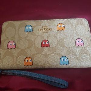 Coach Pacman edition wallet